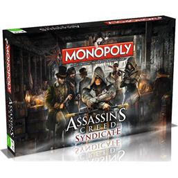 Assassin's Creed: Assassin´s Creed Syndicate Board Game Monopoly *English Version*