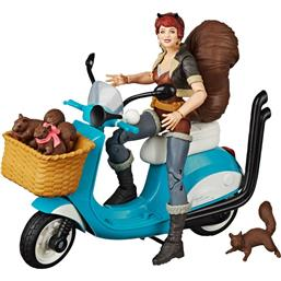 Squirrel Girl with Vehicle Action Figure 15 cm