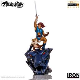 Thundercats: Lion-O & Snarf Deluxe BDS Art Scale Statue 1/10 43 cm