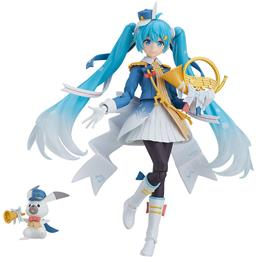 Character Vocal Series: Snow Miku Snow Parade Ver. Figma Action Figure 13 cm