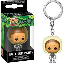 Space Suit Morty Pocket POP! Vinyl Nøglering