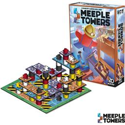 Diverse: Meeple Towers Board Game *English Version*