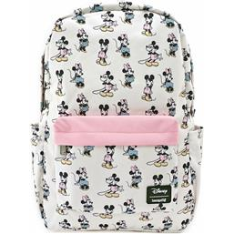 Disney: Pastel Minnie Mickey AOP Rygsæk by Loungefly