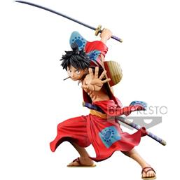 One Piece: Monkey D. Luffy Manga Dimensions PVC Statue 19 cm