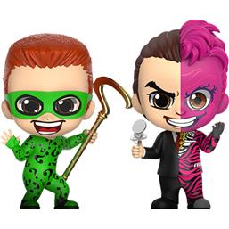 Riddler & Two-Face Cosbaby Mini Figure 2-Pack 11 cm