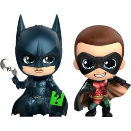 Batman & Robin Cosbaby Mini Figure 2-Pack 11 cm