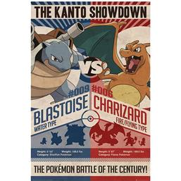 Pokemon Plakat - Red vs. Blue