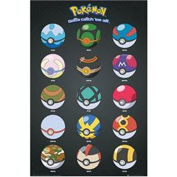 Pokeball Plakat