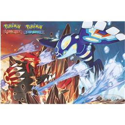 Pokemon Groudon & Kyogre Plakat