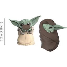 The Child Sipping Soup & Blanket-Wrapped Figure 2-Pack