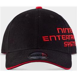 Curved Bill Cap NES Logo