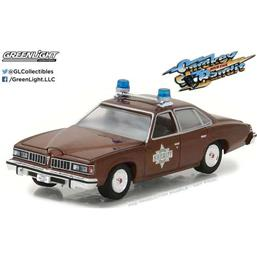 Smokey and the Bandit: Sheriff Buford T. Justice's Pontiac LeMans Diecast Model 1/64 1977