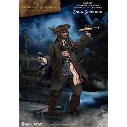 Pirates Of The Caribbean: Jack Sparrow Dynamic 8ction Action Figure 1/9 20 cm