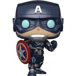Captain America POP! Games Vinyl Figur