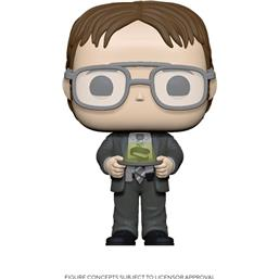 Dwight w/Jello Stapler POP! TV Vinyl Figur