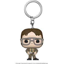 Dwight Schrute Pocket POP! Vinyl Nøglering