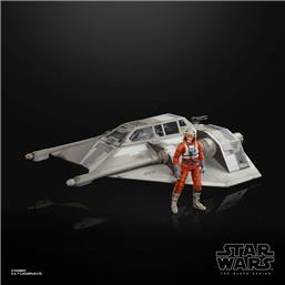Snowspeeder & Dak Ralter Black Series Vehicle with Action Figure
