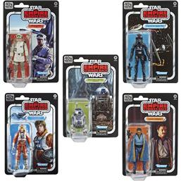 Star Wars: Episode V Black Series Action Figures 15 cm 40th Anniversary 2020 Wave 2 5-pak