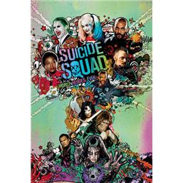 Suicide Squad Atomic Cloud Plakat