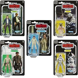 Episode V Black Series Action Figures 15 cm 40th Anniversary 2020 Wave 1 5-Pak