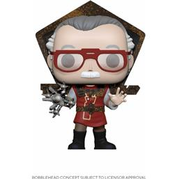 Stan Lee in Ragnarok Outfit POP! Icons Vinyl Figur