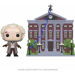 Doc w/Clock Tower POP! Town Vinyl Figur