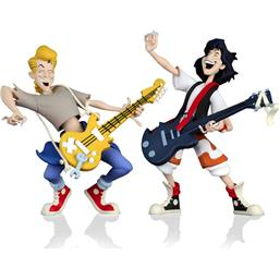 Bill & Ted Toony Classics Action Figure 2-Pack 15 cm