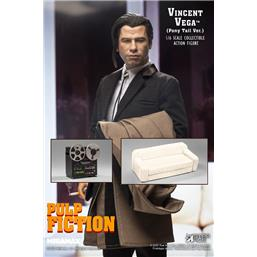 Vincent Vega 2.0 (Pony Tail) Deluxe Version My Favourite Movie Action Figure 1/6 30 cm
