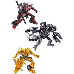 Transformers Studio Series Voyager Class Action Figures 2020 Wave 2 3-Pack