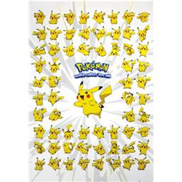Pickachu Plakat - Gotta catch em all plakat