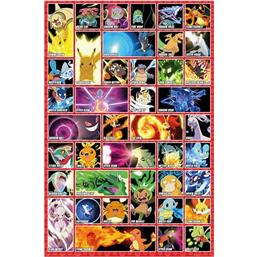 Pokemon Moves Plakat