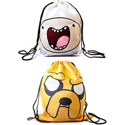 Adventure Time: Finn og Jake Vendbar Gymnastiktaske
