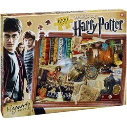 Harry Potter: Harry Potter Hogwarts Puslespil