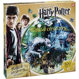 Harry Potter: Harry Potter Magical Creatures Puslespil