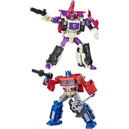 Optimus Prime & Apeface Action Figures Voyager 2020 2-Pack