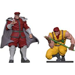 Street Fighter: Bison & Rolento Statues 1/8