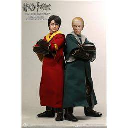 Harry Potter: Harry Potter & Draco Malfoy Quidditch Action Figure 1/6 2-Pack 26 cm