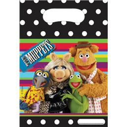 Muppets Partybags 23 x 16 cm 6 styk
