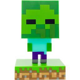 Minecraft: Zombie 3D Icon Light