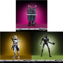 Star Wars Vintage Collection Action Figures 10 cm 2020 Wave 3 4-Pack