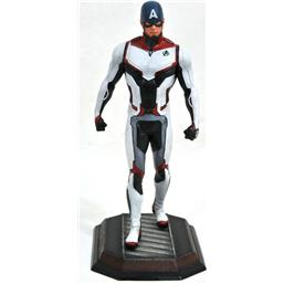 Captain America Team Suit Exclusive Movie Gallery Statue 23 cm