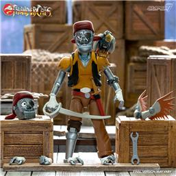 Captain Cracker the Robotic Pirate Scoundrel Action Figure 18 cm