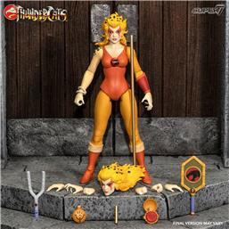 Cheetara the Super Speedy Thundercats Warrior Ultimates Action Figure 18 cm