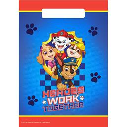 Paw Patrol Work Together Partybags 8 styk