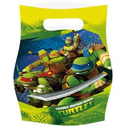 Ninja Turtles Partybags 6 styk