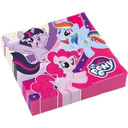 My Little Pony Cupcake pony servietter 33 x 33 cm 20 styk