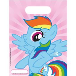 My Little Pony Partybags Rainbow Pony 6 styk
