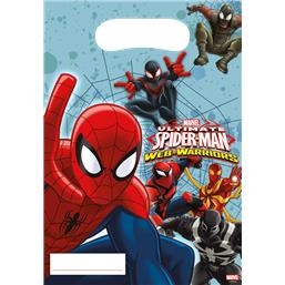Spiderman Partybags 6 styk