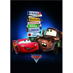 Cars: Cars Cities plakat