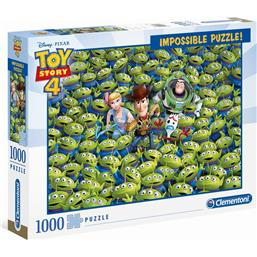 Toy Story 4 Impossible Puslespil - 1000 brikker